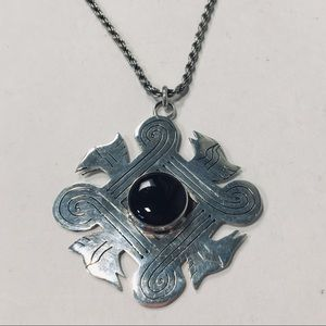 Jewelry - Eye of God Sterling Silver Necklace